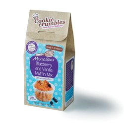 Marvellous Blueberry & Vanilla Muffin Baking Mix with Wholemeal Flour 230g