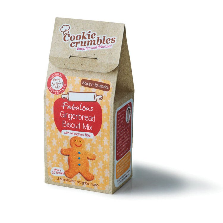 Fabulous Gingerbread Biscuit Baking Mix with Wholemeal Flour 336g