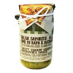 Italian Broccoli Rabe & Anchovy Pasta Sauce 180g