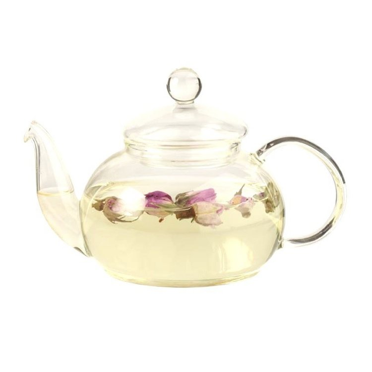 Deluxe Glass Tea Pot