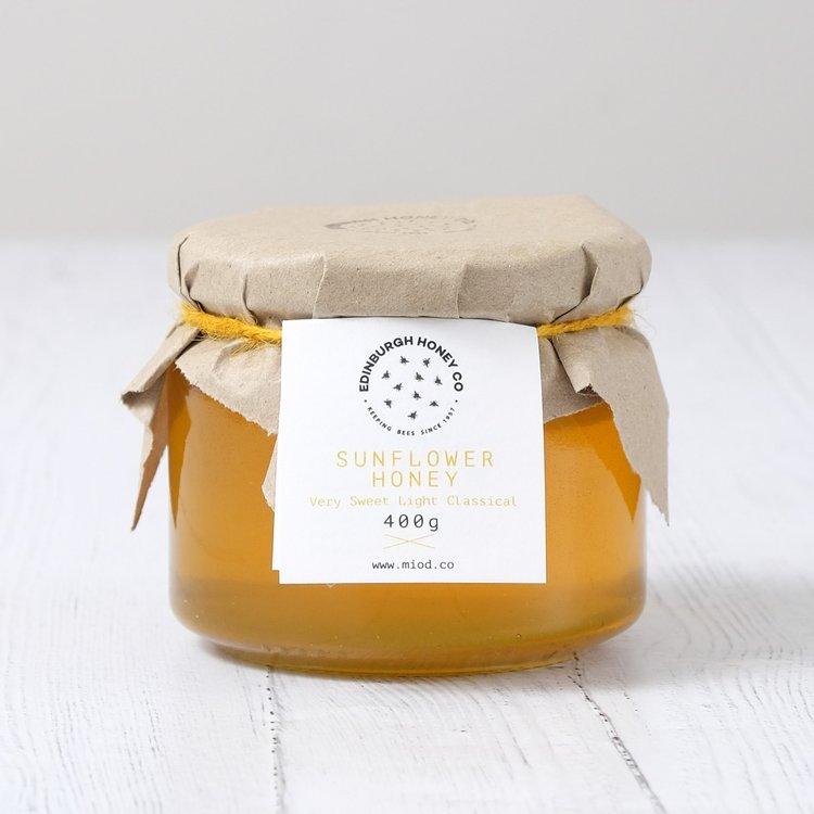 Raw Sunflower Honey 400g