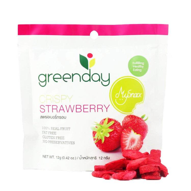 12 x Freeze Dried Strawberry Crisps (12 x 12g Bags)