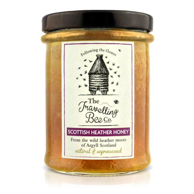 Raw Scottish Heather Honey 227g