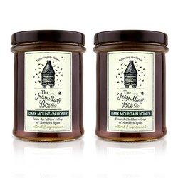 2 x Raw Dark Spanish Mountain Honey 227g