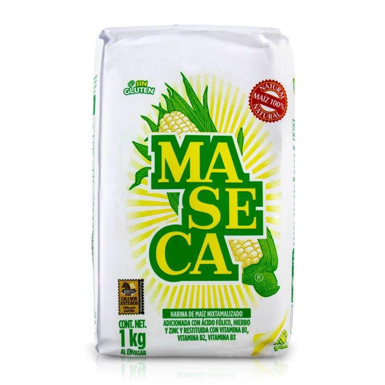 1kg Maseca Masa Harina White Corn Flour (Maize Flour)