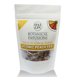 6 'Atomic Peach Tea' Botanical Infusion Bags for Gin & Tonic