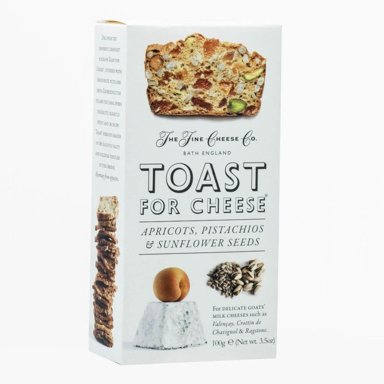 Apricots, Pistachios & Sunflower Seeds Toast for Cheese 100g