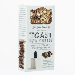 Dates, Hazelnuts & Pumpkin Seeds Toast for Cheese 100g