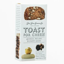 Quince, Pecans & Poppy Seeds Toast for Cheese 100g