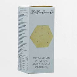 Extra Virgin Olive Oil & Sea Salt Crackers for Cheese 150g