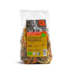 Organic Tricolour Strozzapreti Durum Wheat Pasta 500g