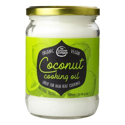 Organic Coconut Cooking Oil 500ml