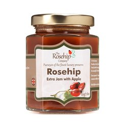 Rosehip Extra Jam with Apple 220g