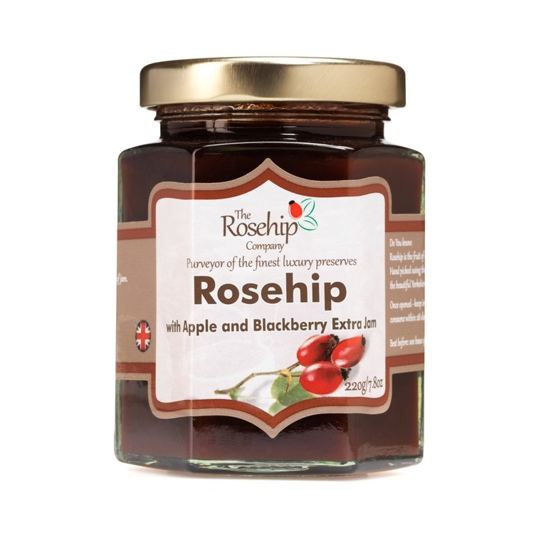Rosehip with Apple & Blackberry Extra Jam 220g