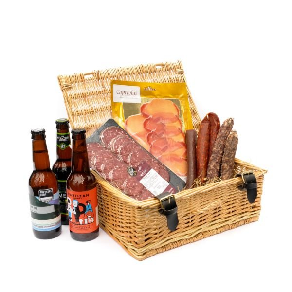 British Charcuterie Meat & Craft Beer Gift Hamper by Cannon & Cannon