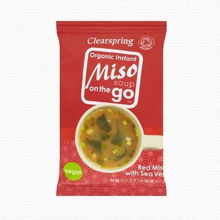 Organic Instant Red Miso with Sea Vegetables on the Go 8g