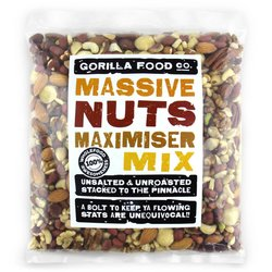 'Massive Nuts Maximiser' Deluxe Mixed Nuts Inc. Almonds, Pistachios & Walnuts 800g