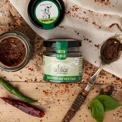 Mild Green Chilli & Herb Ajika Paste 110g