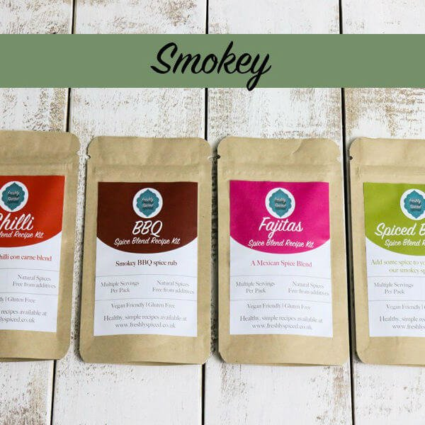 Smoky Spice Blend Tin Set with BBQ and Chilli Mixes