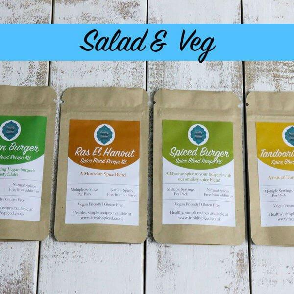 Salad & Vegetable Spice Blend Tin Set