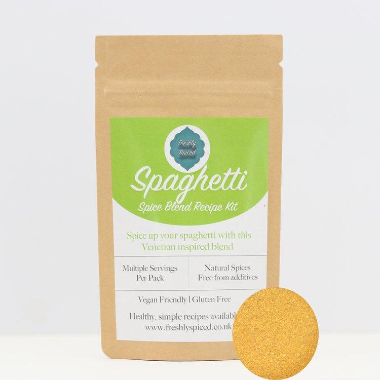 Infused Spaghetti Spice Blend 25g (Inc. Coriander, Cloves, Chilli, Cardamom & Turmeric)