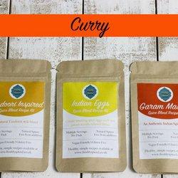 Curry Spice Blend Tin Set Inc. Garam Masala & Tandoori Blends