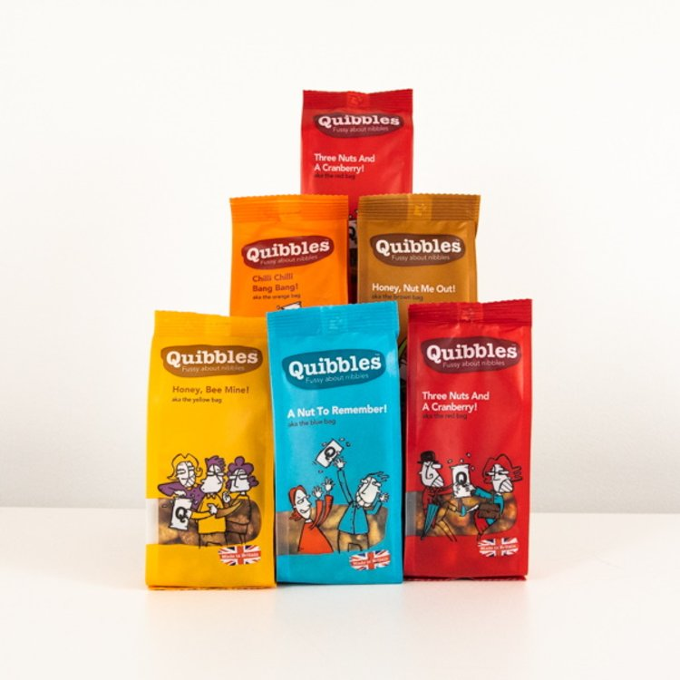Box of 6 Sharing Mixed Nut Snack Packs