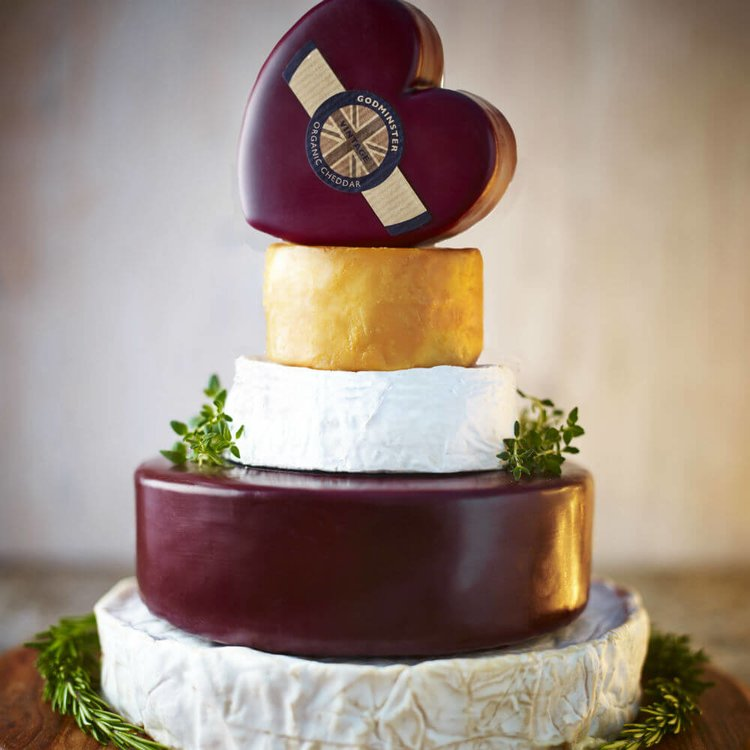 Godminster Organic Cheese Celebration Cake (For Weddings & Parties)