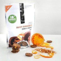 Cinnamon & Orange Seed Protein Snack Crackers 100g