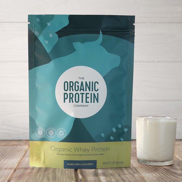 Organic Whey Protein Powder 400g (Gluten Free)