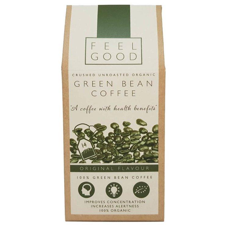 Organic Crushed Green Bean Coffee Bags 35g