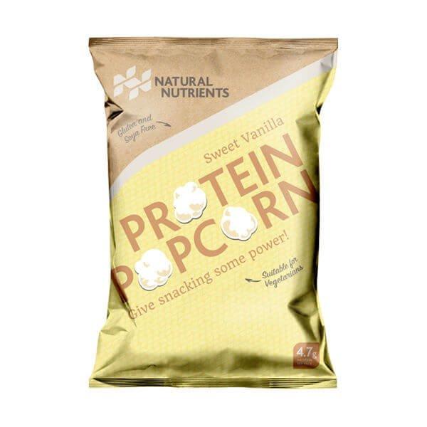 Sweet Vanilla Protein Popcorn (with Faba Bean Protein Powder) 25g