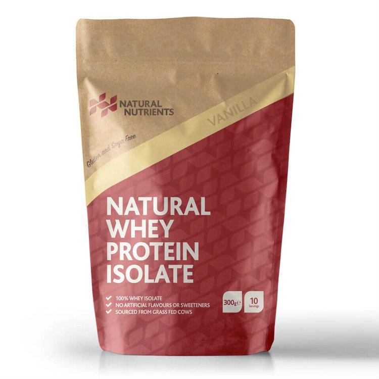 Vanilla Whey Protein 250g (Grass Fed, Hormone Free)