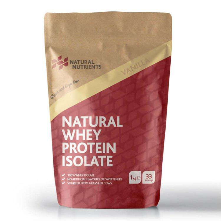 Vanilla Whey Protein Powder 1kg (Grass Fed, Hormone Free)