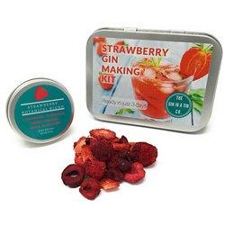 Strawberry Gin Botanical Making Gift Kit with Botanicals, Instructions & Juniper Berries