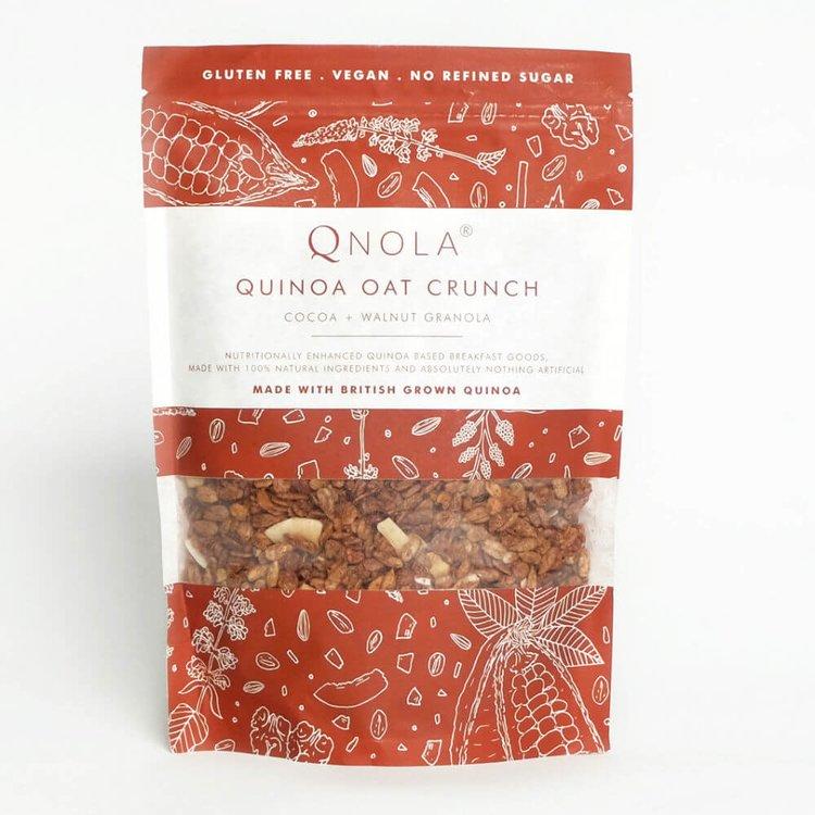 Cocoa, Walnut & Quinoa Oat Crunch Granola 350g