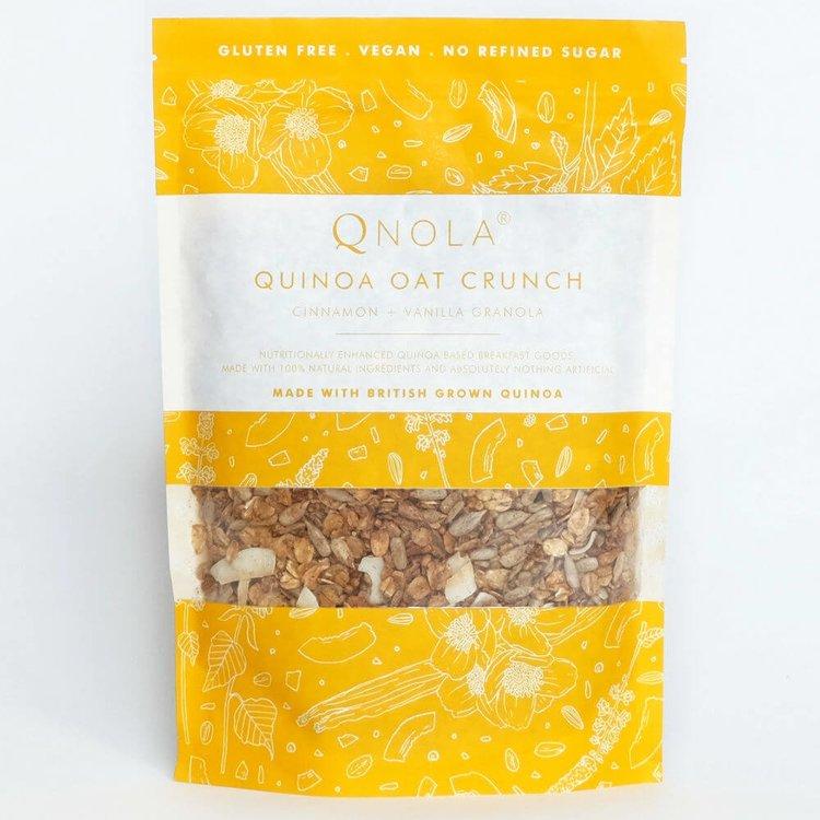 Cinnamon, Vanilla & Quinoa Oat Crunch Granola 350g