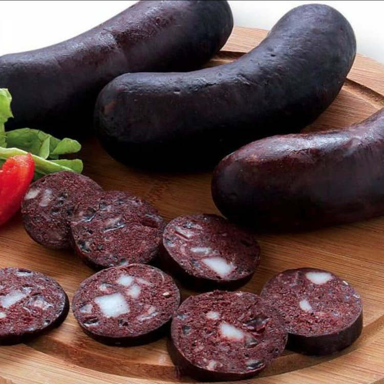 3 Smoked Morcilla Black Pudding Sausages with Onion 250g