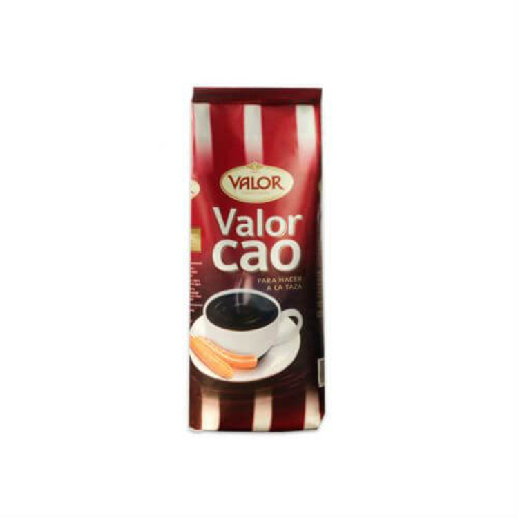 1kg Valor Cao Thick Dark Hot Chocolate Drinking Powder - Spanish Style