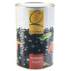 Catering Size Black Pitted Spanish Manzanilla Olives in Brine 4.3kg Tin