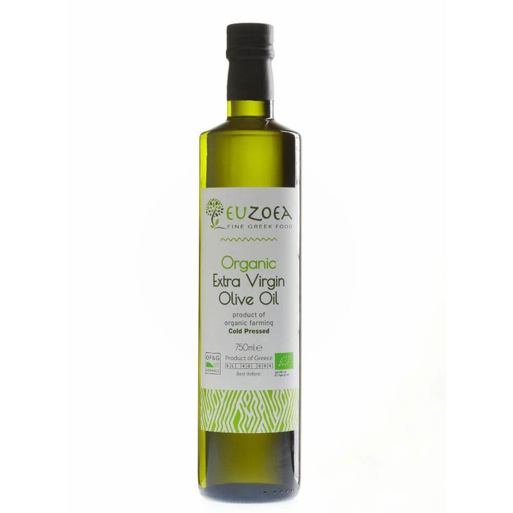750ml Organic Cold-Pressed Premium Greek Extra Virgin Olive Oil