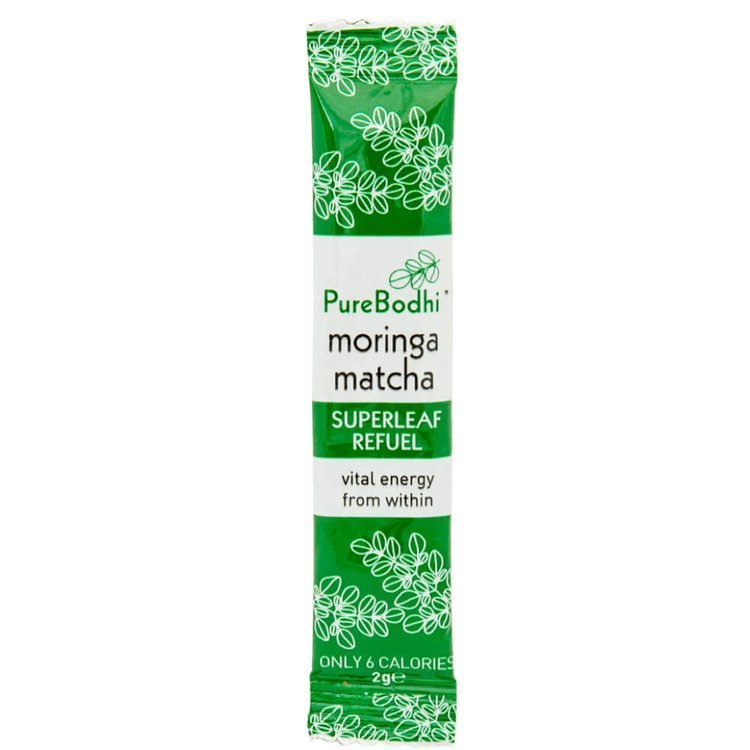 Moringa Leaf & Matcha Green Tea Blend Sachets (9 x 2g)