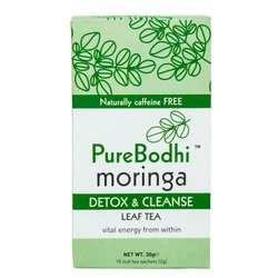 Moringa Leaf Tea - Detox & Cleanse 30g 14 Tea Bags