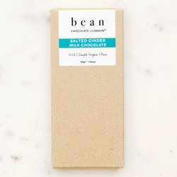 'Salted Cinder' Single Origin 50% Milk Chocolate Bar with Honeycomb & Sea Salt 55g