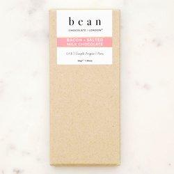 Bacon & Sea Salt Single Origin 50% Milk Chocolate Bar with Peruvian Criolla 55g
