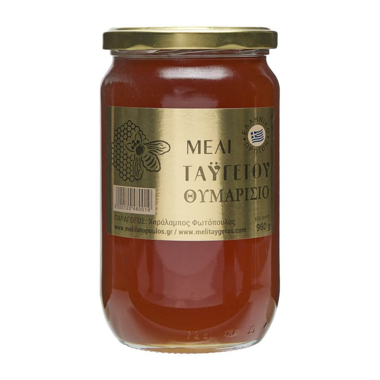 Greek Wild Taygetos Thyme Honey 960g