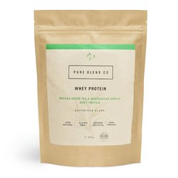 Matcha Green Tea & Madagascan Vanilla Whey Protein Powder 500g