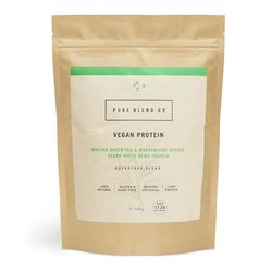 Vegan Matcha Green Tea & Madagascan Vanilla White Hemp Protein Powder 500g