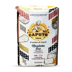 4 x Caputo Tipo '0' Manitoba Oro Flour 1kg (For Pizza & Pastries)