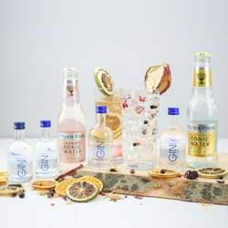 The Lakes Gin & Tonic Gift Set Inc. 4 Lake Distillery Gins & Fever-Tree Tonic